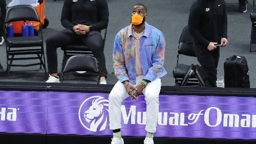 LeBron James Wore an Incredible Jacket That Only Cost $105