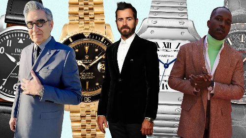The Very Best Watches From the 2021 Golden Globes, Including Justin Theroux's Extra-Special Rolex