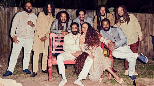 Bob Marley's Family Reunites for Its First Photo Shoot in More Than a Decade   GQ