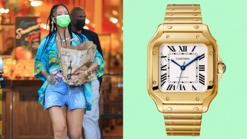 Rihanna Wears a Red Carpet-Ready Watch to the Grocery Store