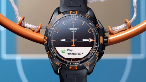 The Time is Now: Tissot's New T-Touch Connect Solar Timepiece is an Elite Blend of Fashion and Function