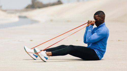 You Can Get a Killer Full-Body Strength Workout With Just Resistance Bands