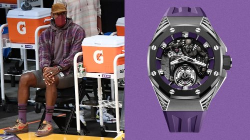 LeBron James Wears the $162,000 Black Panther Watch