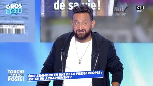 """""""C'est un torchon"""" : après la polémique sur Eric Zemmour, Cyril Hanouna annonce qu'il ne fera pas la Une de Paris Match"""