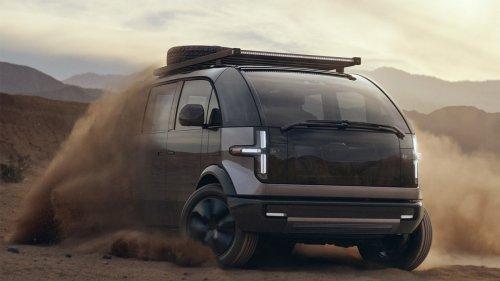 """Canoo s'apprête à commercialiser son """"loft sur roues"""", voiture futuriste et multifonctions"""