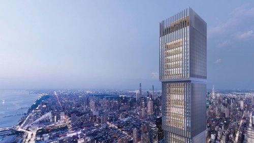 Voici ce qui pourrait devenir la deuxième plus haute tour de Manhattan