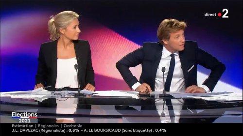 Déchaîné, Laurent Delahousse s'attaque violemment aux hommes politiques et aux chaînes de télévision en plein direct et fait le bonheur des téléspectateurs de France 2