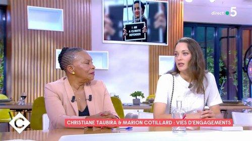 Les téléspectateurs de C à vous désespérés par les propos de Marion Cotillard sur la politique en France et sa grossière erreur sur Christiane Taubira