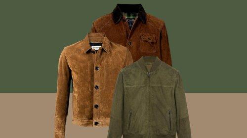 8 vestes en daim à porter cet automne