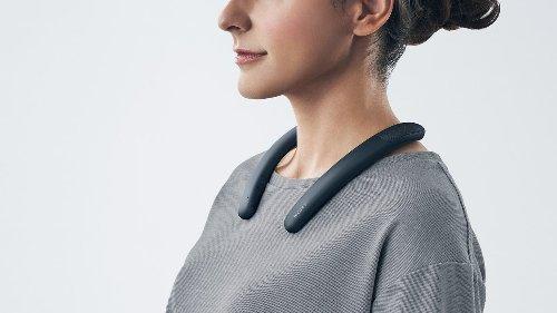 Sony a inventé une incroyable enceinte portable (autour du cou) qui va vous changer la vie