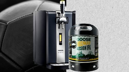 Cette tireuse à bière Philips pourrait devenir l'accessoire ultime de l'Euro 2021