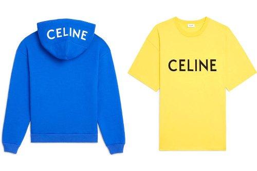 First Look At Celine's Fresh New Streetwear Basics