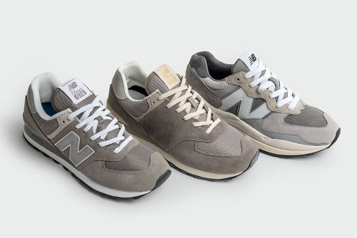 New Balance Celebrates Heritage For The Brand's 'Grey Day'