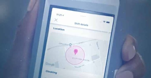 School janitor says she was fired for not installing smartphone tracking app