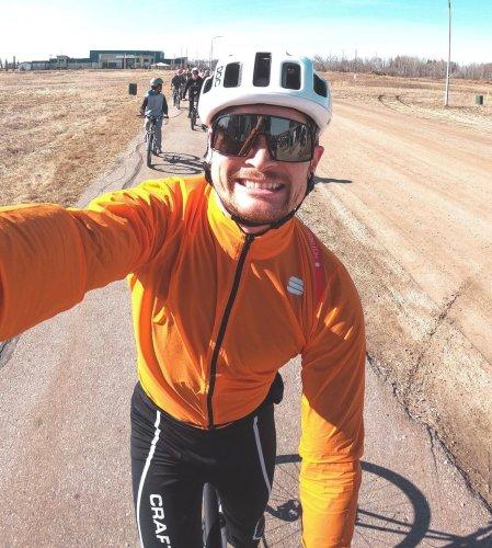 Teacher's 225-kilometre ride raises thousands for suicide prevention
