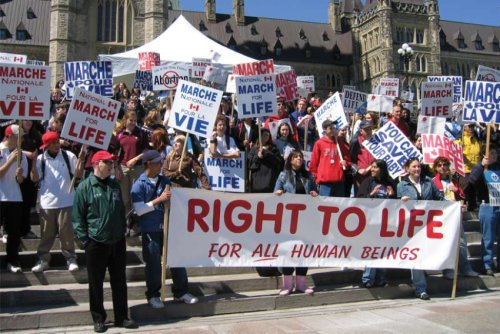 National March For Life returns to Parliament Hill