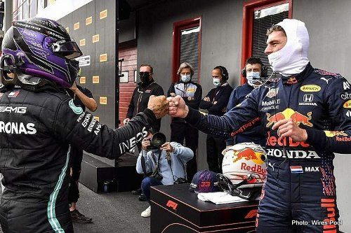Verstappen: No one is perfect, everyone makes mistakes