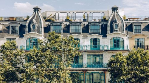 Hôtel Kimpton St Honoré Paris : entre son restaurant californien et son rooftop-bar parisien, on ne saura lequel choisir !