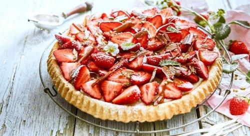 Voici la recette gourmande de la tarte aux fraises revisitée de Cyril Lignac