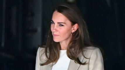 Kate Middleton sublime avec un look ultra chic à la somme astronomique