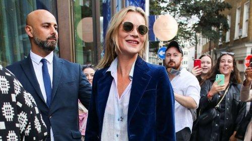 Kate Moss fait forte impression en portant cette tendance disparue depuis les années 2000