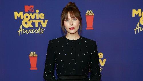 Elizabeth Olsen Wears Miu Miu To The MTV Movie & TV Awards