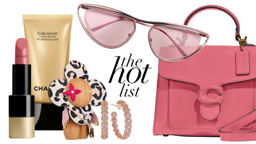 The GRAZIA Hot List: Tickled Pink For The Month Of August - Grazia