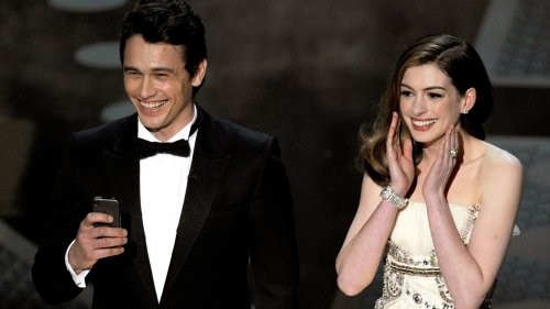 Inside James Franco and Anne Hathaway's Oscars Monologue - Grazia
