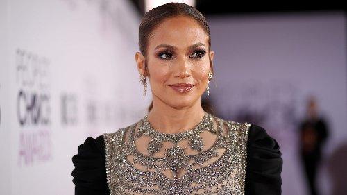 Jennifer Lopez Wears Crop Top And Cargo Pants To Dinner In LA