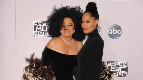 Tracee Ellis Ross Channels One of Her Mom, Diana Ross Iconic Photos