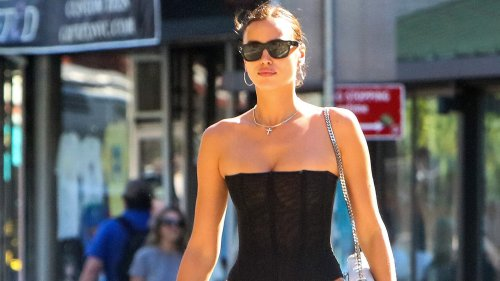 Only Irina Shayk Could Convince Me To Wear Low Rise Jeans - Grazia USA