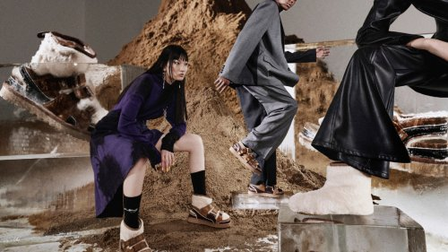 UGG and Feng Chen Wang Unveil Revolutionary Deconstructable Sandal - Grazia