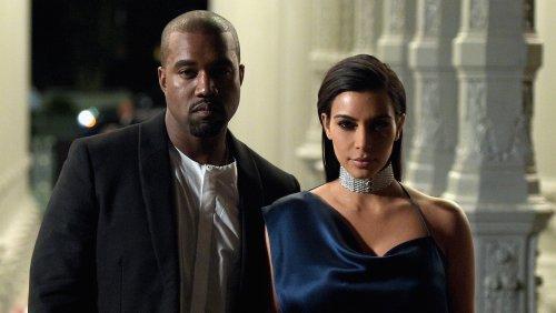 Kim Kardashian And Kanye West Wear Matching Outfits Post-Split