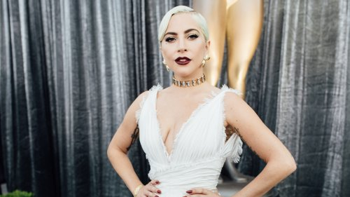 Lady Gaga Wears a Wedding Gown on 'House of Gucci' Set: Pics - Grazia