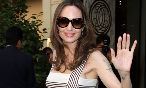 Angelina Jolie's French Wardrobe Is Effortlessly Chic