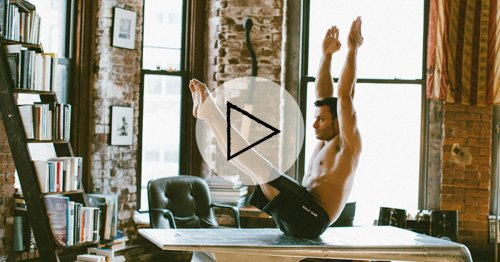 This 6-Minute Core Workout Will Seriously Challenge Your Abs in a New Way