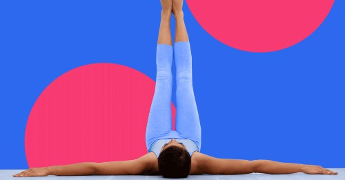 Can Legs-up-the-Wall Yoga Pose Actually Help Weight Loss?