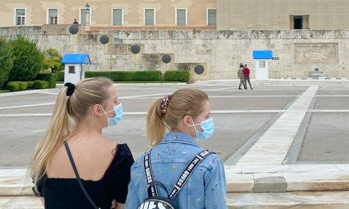 New Coronavirus Cases in Greece Almost Halved on Sunday