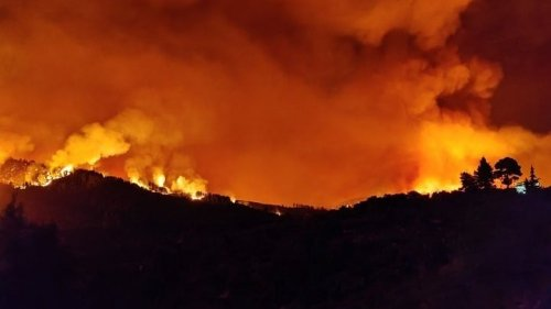 Fire Rages Near Ancient Olympia in Greece, Residents Evacuated