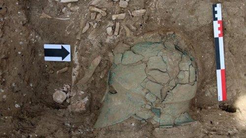 Ancient Greek Corinthian Helmet Found in Southwest Russia