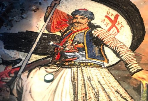 The Artist Creating Stunning Mosaics of Greek Independence Heroes
