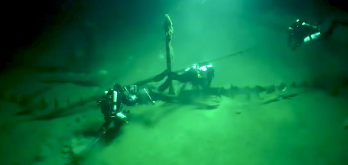 """The Oldest Intact Shipwreck """"Odysseus"""" was an Ancient Greek Vessel"""