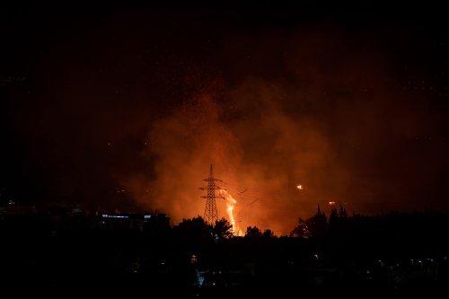 Raging Fires Spread Across Greece, Record High Temperatures