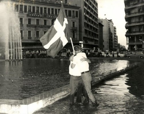 The Day Democracy Was Restored in Greece After the Junta