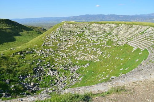 Ancient Greek Amphitheater at Laodicea Restored to Former Glory
