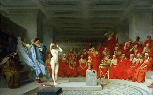 Phryne: The Ancient Greek Courtesan Who Disrobed For Her Freedom