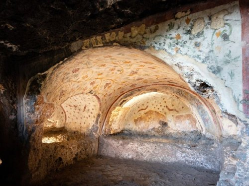 Hundreds of Ancient Ornate Rock-Cut Tombs Intrigue Archaeologists