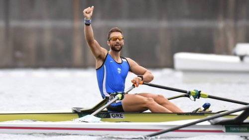 Greece's Stefanos Ntouskos Wins Gold; Breaks World Record in Rowing at Tokyo Olympics