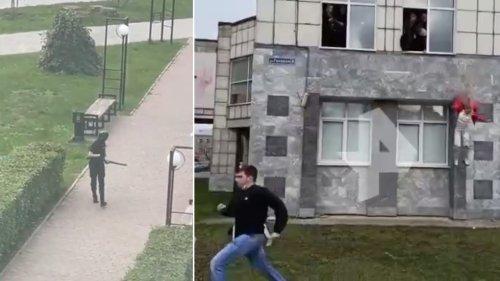 Gunman Opens Fire at Russian University Killing at Least Eight