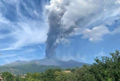 Etna, Europe's Most Active Volcano, Erupts Again